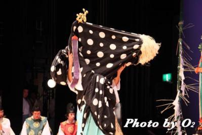 松前神楽合同公演2010・獅子の鈴上