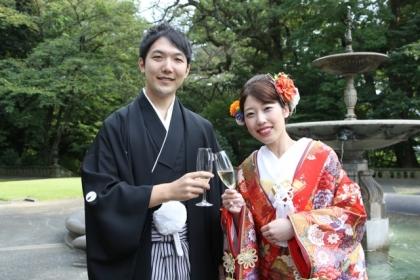 エミナちゃん結婚式1