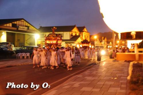 姥神大神宮渡御祭 下町巡幸 いにしえ街道