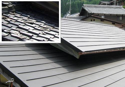 屋根・内装リフォーム 工事の写真のご紹介 【施工事例】