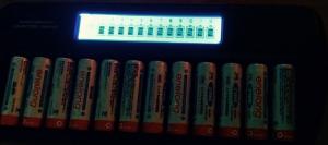 充電器と充電池