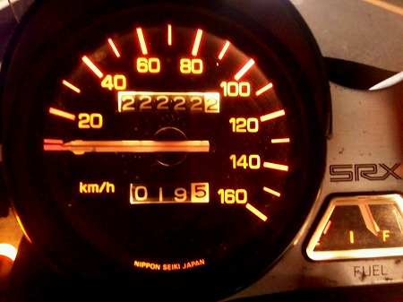 22,222km
