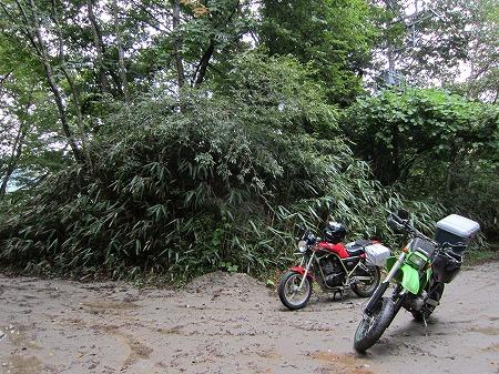 林道入り口 2