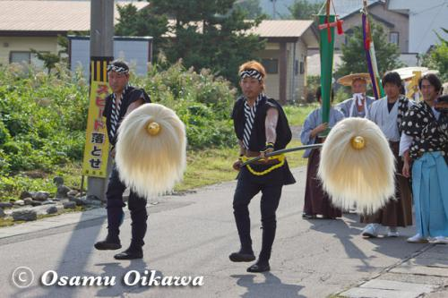 福島大神宮渡御祭 奴行列 2012