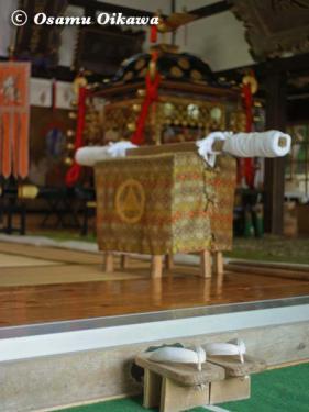 姥神大神宮渡御祭 2012 下町巡幸 猿田彦の下駄
