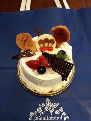 なめこケーキ