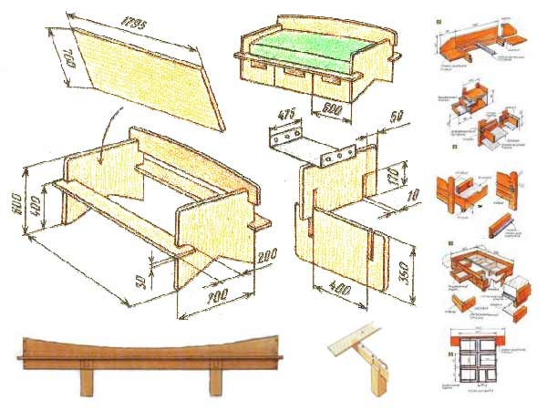 free woodworking plans beds