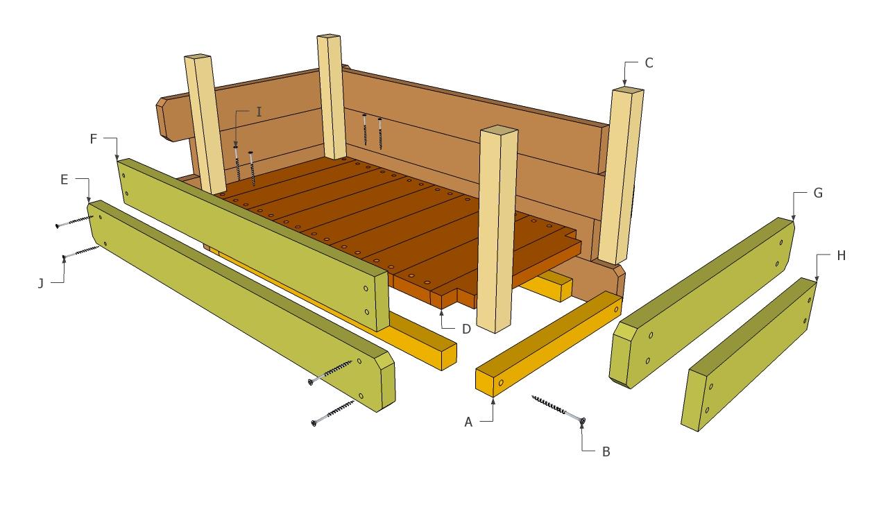 plans wooden planter boxes