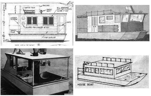 House Boat Plan