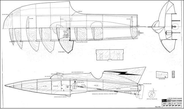 Hydro Boat Plans