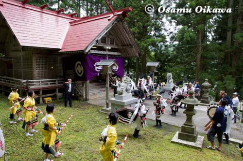 白符大神宮渡御祭 2012 荒馬踊り