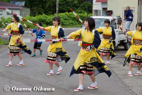 白符大神宮渡御祭 2012 荒馬踊り 棒振り