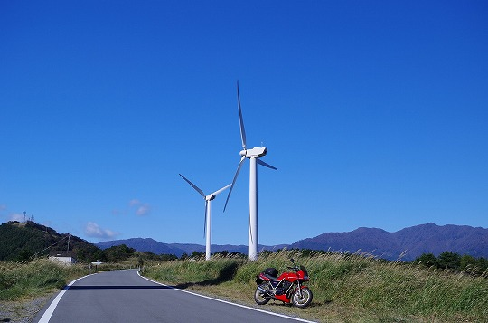 東伊豆風力発電所 1
