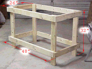 Pdf plans tool bench design download cnc router vacuum table design