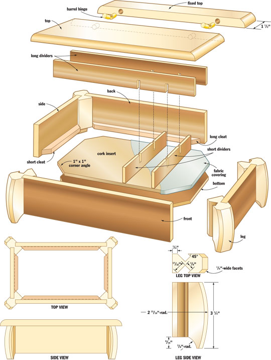 wooden jewelry box design plans ethridge207