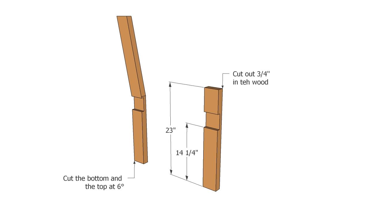 PDF Plans Plans Park Bench Download free dog kennel ...