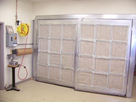 Woodworking Spray Booth Used wood processing-finishing Spray booths ...