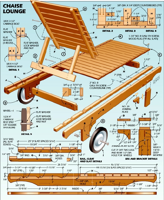 Pdf plans diy wood lounge chair plans download diy wood - Plan de chaise en bois gratuit ...