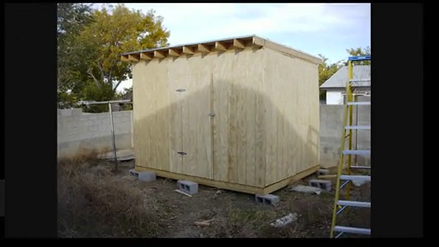 8x8 Outdoor Shed Gade