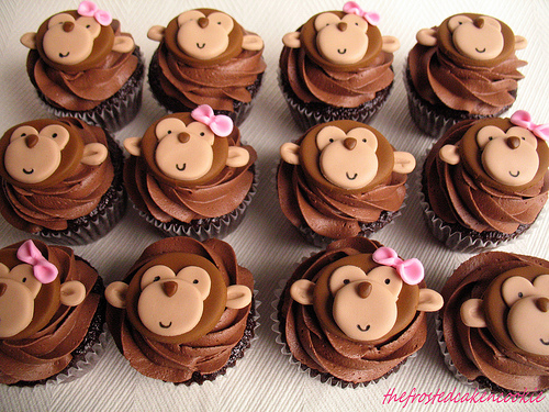 Monkey Cake Decorations