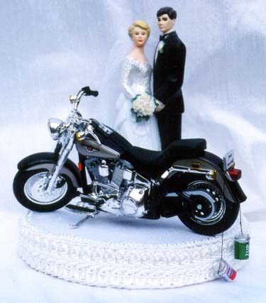 Motorcycle Cake Decorations