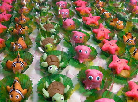 Nemo Cake Decorations
