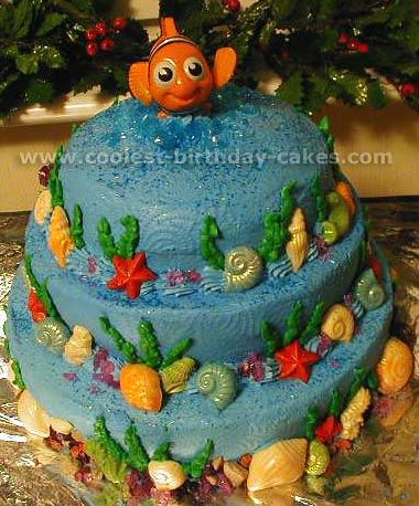 Nemo Cake Decorations