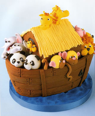 Noah S Ark Cake Decorations
