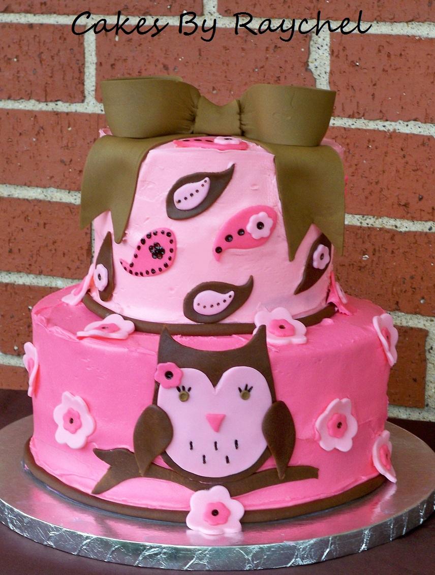 Owl Cake Decorations