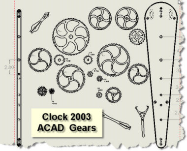 Wood Clock Plans Patterns