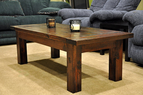 plan for making a coffee table