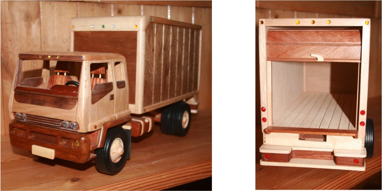 free wood truck plans