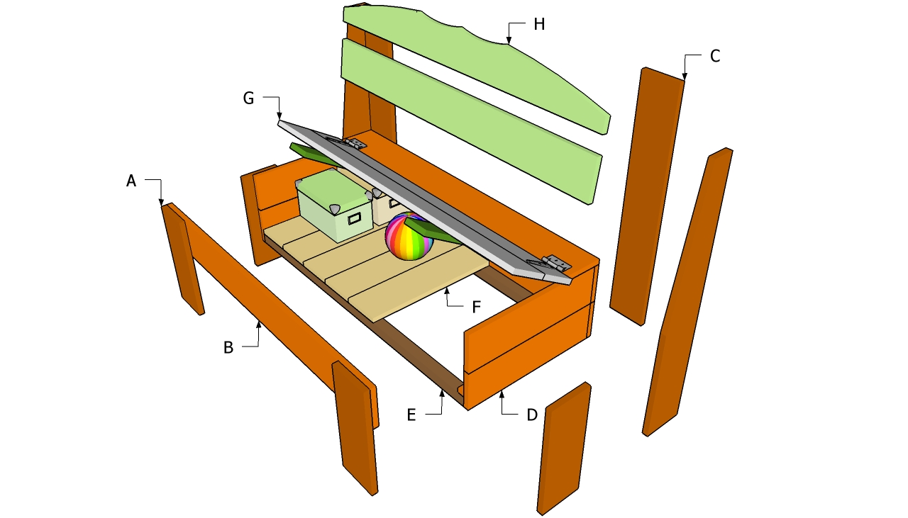 How To Make A Wooden Storage Bench Seat