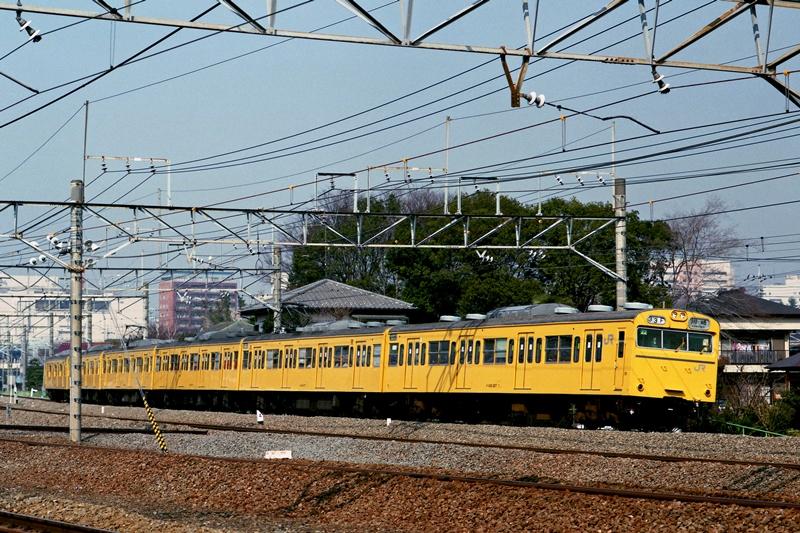 南武線103系 1998年2月14日 - かわゆの撮り鉄寫真館