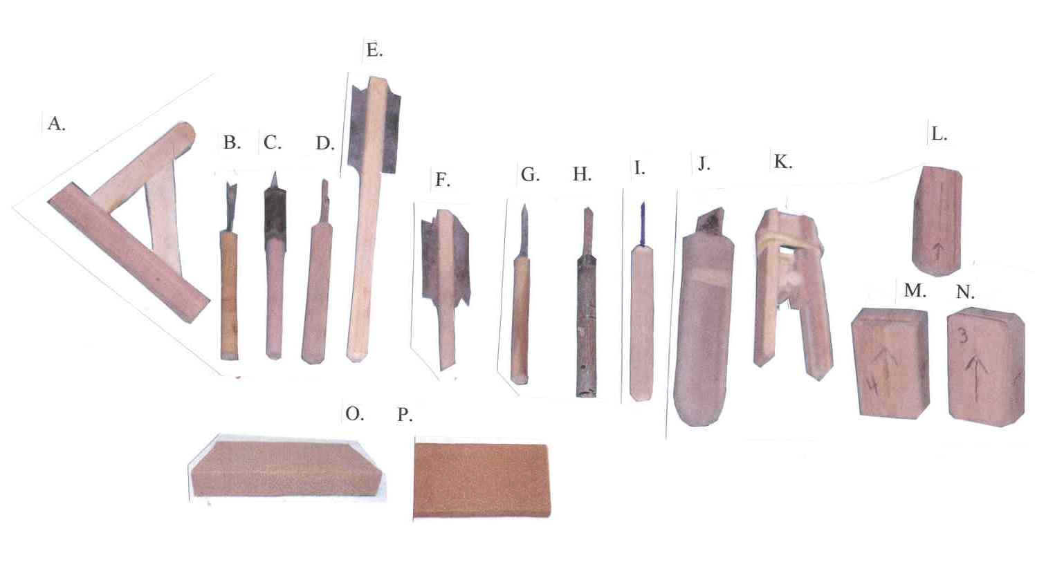 woodwork tools and equipment
