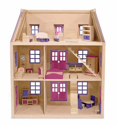 ... Doll House | Easy-To-Follow How To build a DIY Woodworking Projects