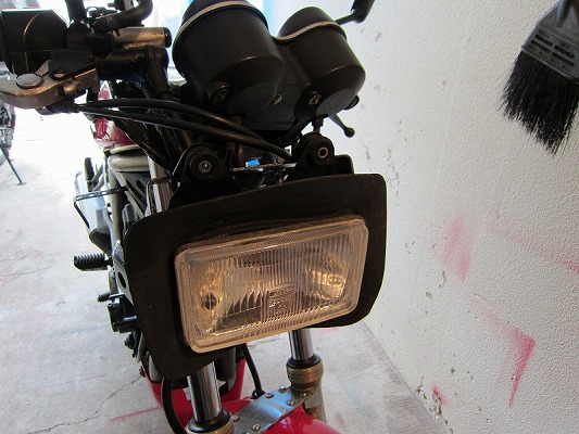 ライトステー修理 1