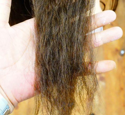 ストレートパーマの失敗 ビビリ毛