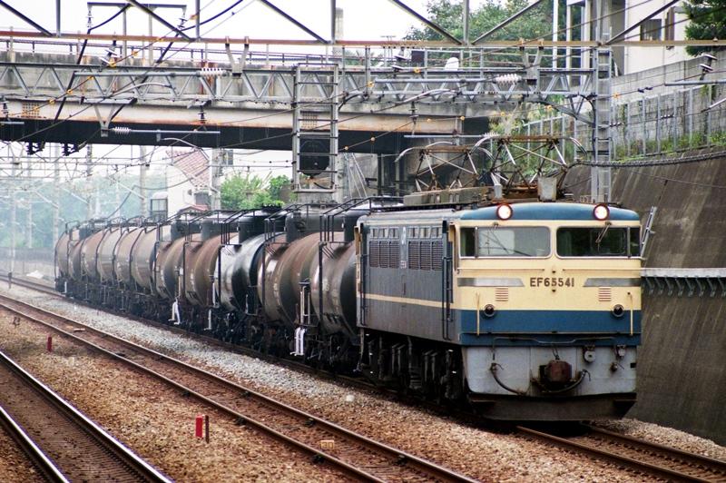EF65(500)貨物 武蔵野線 1995年10月5日 - かわゆの撮り鉄寫真館