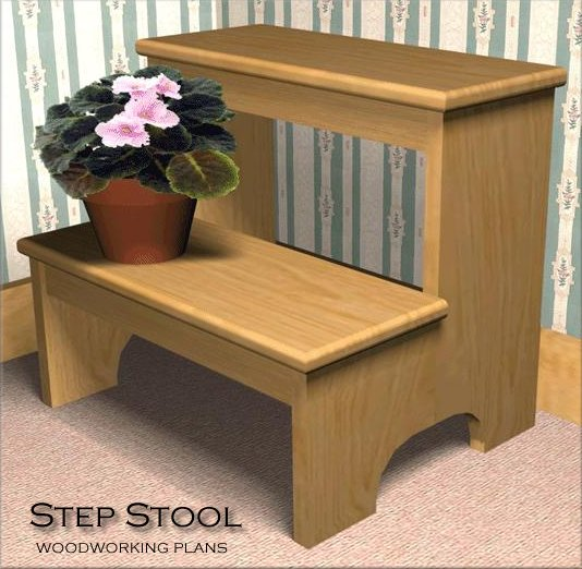 easy wood step stool plans