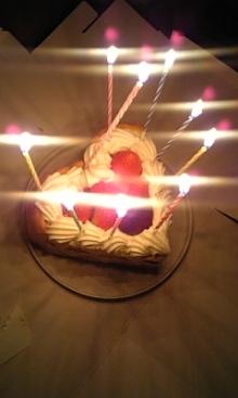 $「あるがままに生きる」-しほりケーキ