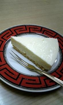 $「あるがままに生きる」-チーズケーキ