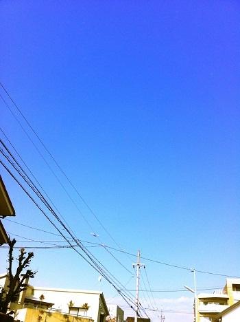 $「あるがままに生きる」-青空