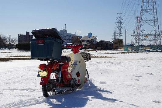 雪散歩 11