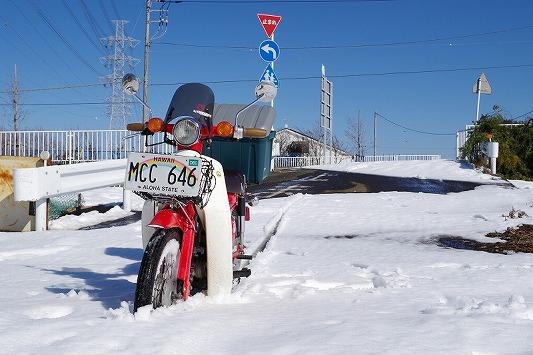 雪散歩 13