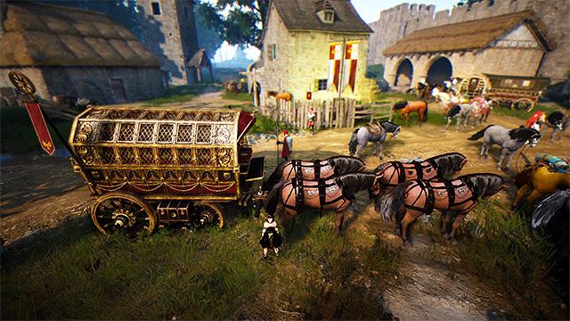 『黒い砂漠』 貴族馬車を作ってみた - BuildForce