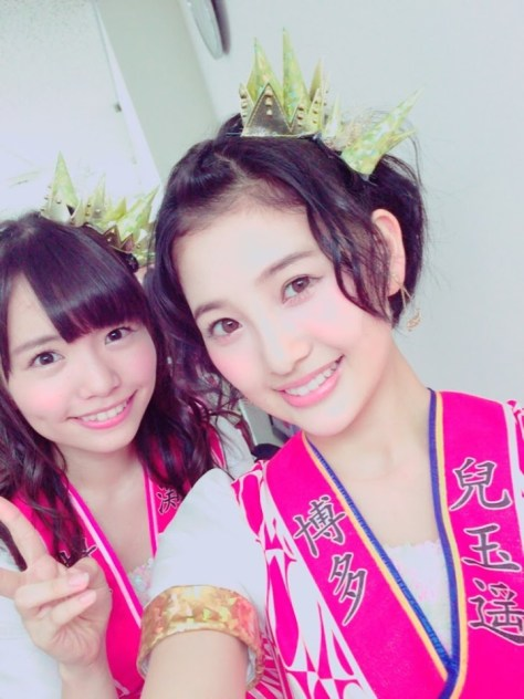150105HKT48-AKB48兒玉遥(はるっぴ)-2渕上舞