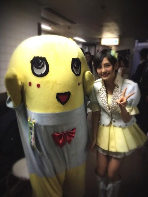 141203HKT48-AKB48兒玉遥(はるっぴ)-5ふなっしー