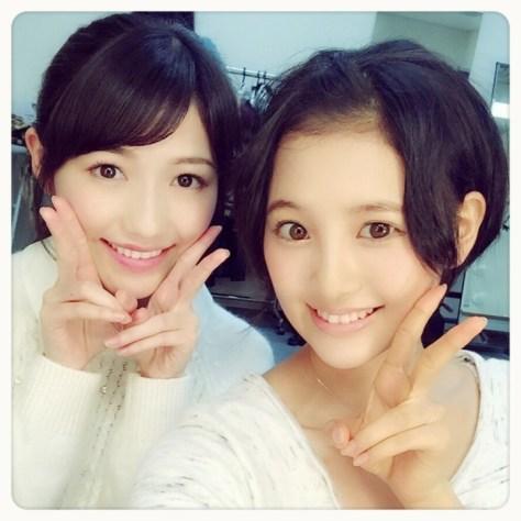 141113HKT48-AKB48兒玉遥(はるっぴ)渡辺麻友