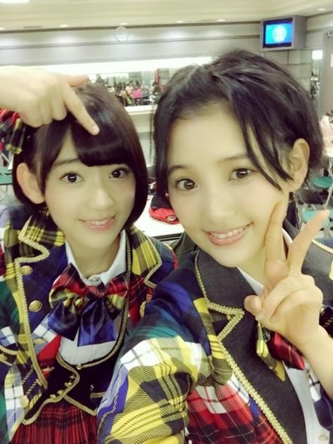 141101HKT48-AKB48兒玉遥(はるっぴ)宮脇咲良